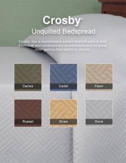 Crosby Bedspread Brochure