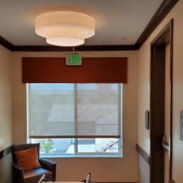 Straight Valence Window Treatment 2