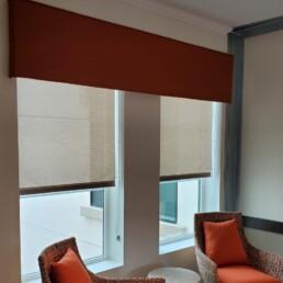 Straight Valence Window Treatment