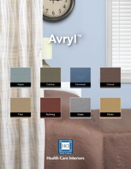 Avryl bedding, bed spread, hospital cubicle curtains, cubicle curtains, healthcare, hospice, health care facility, antimicrobial